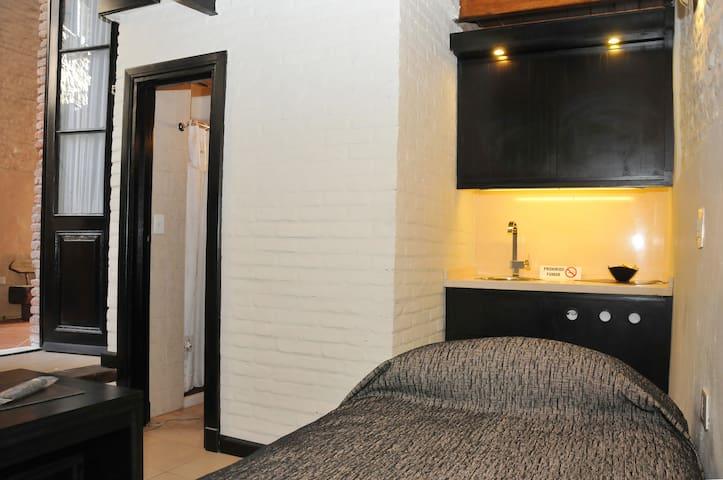 Habitaciones con baño privado para 4 pax