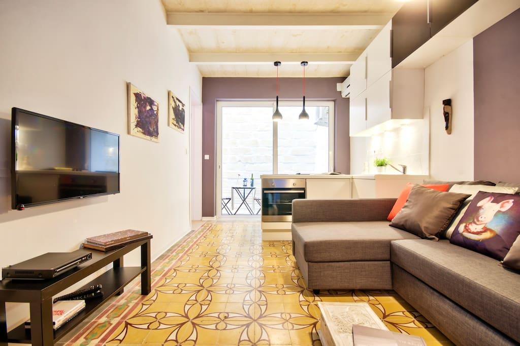 valletta maison d 39 art centre apt appartements louer la valette malte. Black Bedroom Furniture Sets. Home Design Ideas