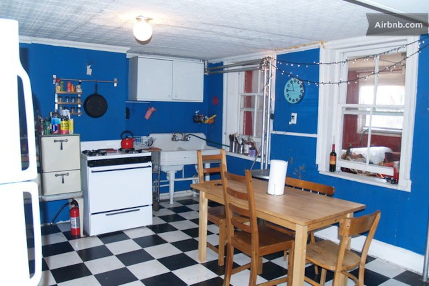 Our very large kitchen where most people like to hang out