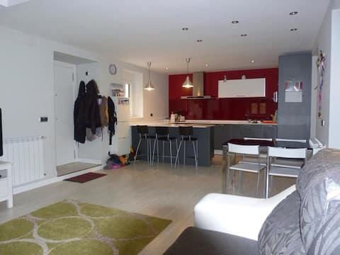 Expectacular apartamento en caserio