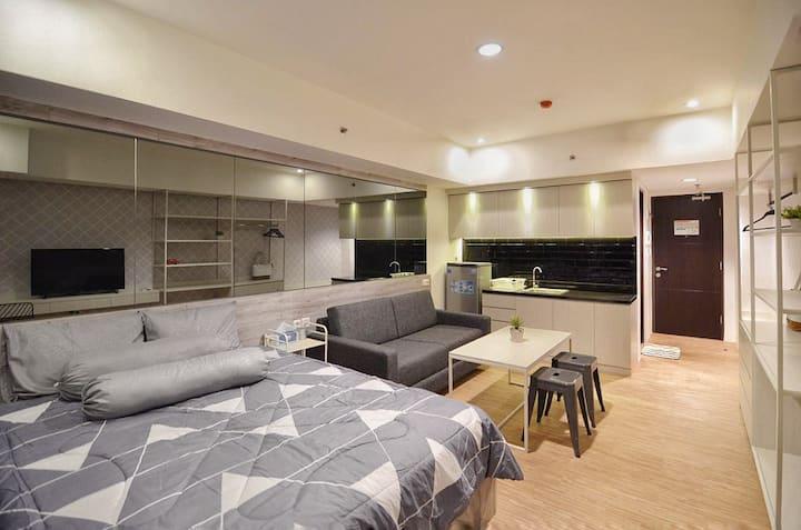 CHIC Studio Apartment at La Grande Merdeka