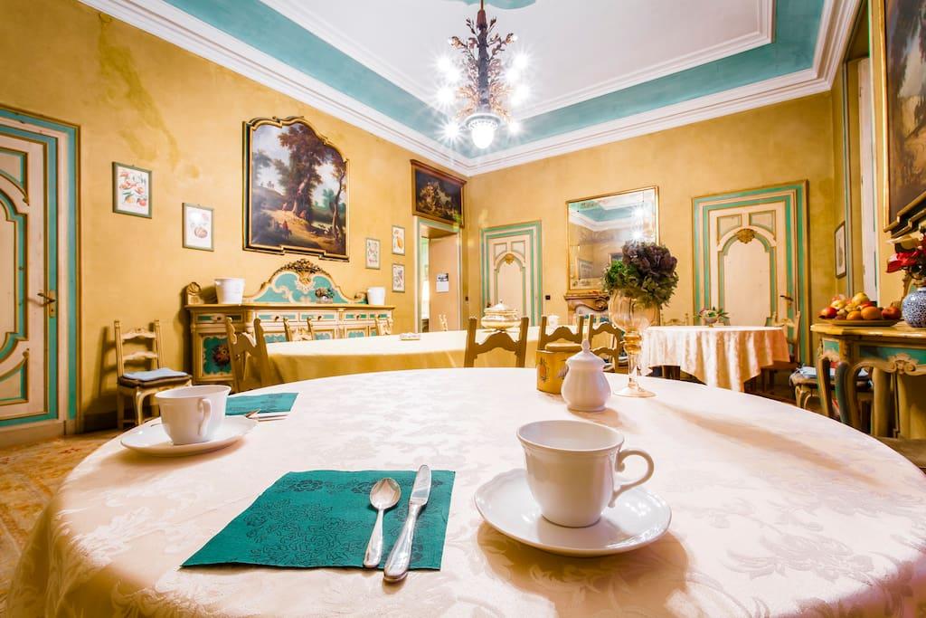 Sala da pranzo per le colazioni