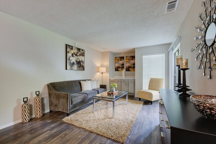 Rest easy and live life   2BR in San Antonio