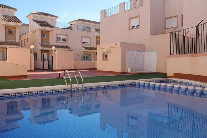 Nice familyhouse in the village of San Javier!