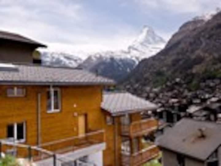 Verona has stunning Matterhorn views. Sleeps 7-8 .