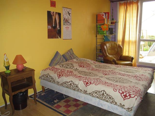 chambre individuelle au calme - Épernay - Apartment