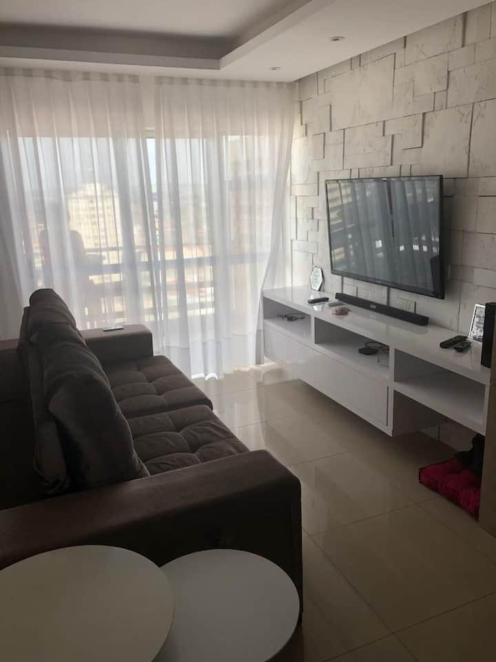 Apartamento completo e novo, no centro de Lins/SP