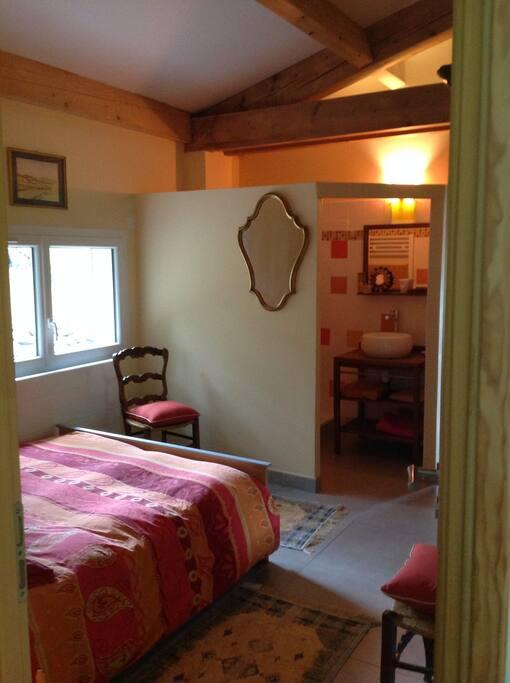 L 39 orange jaune chambre duo maisons louer p lissanne provence alpes c te d 39 azur france - Chambre dhotes orange provence ...