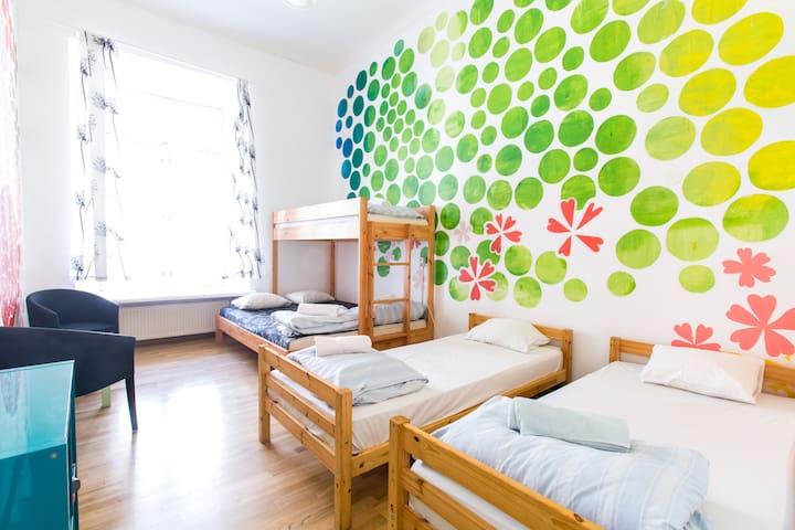 4 bed room in the Old Town Hostel - Tallinn - Dorm
