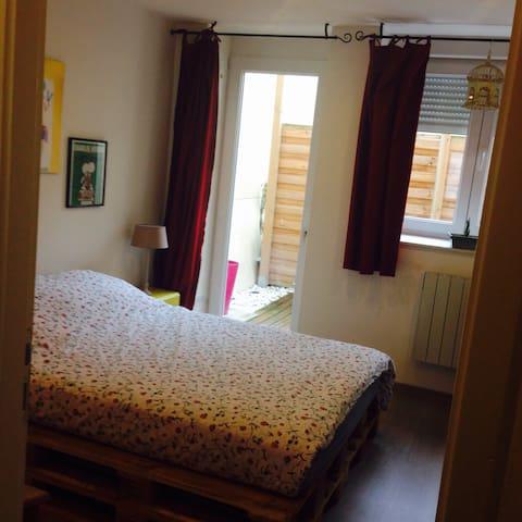 Appartement proche centre ville - Verdun - Apartament