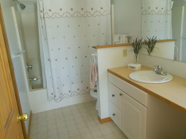shower bathtub