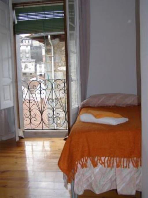Habitación privada, 2 camas individuales