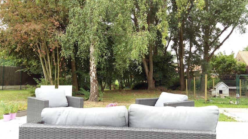 Een oase van rust in Lit-Moen!