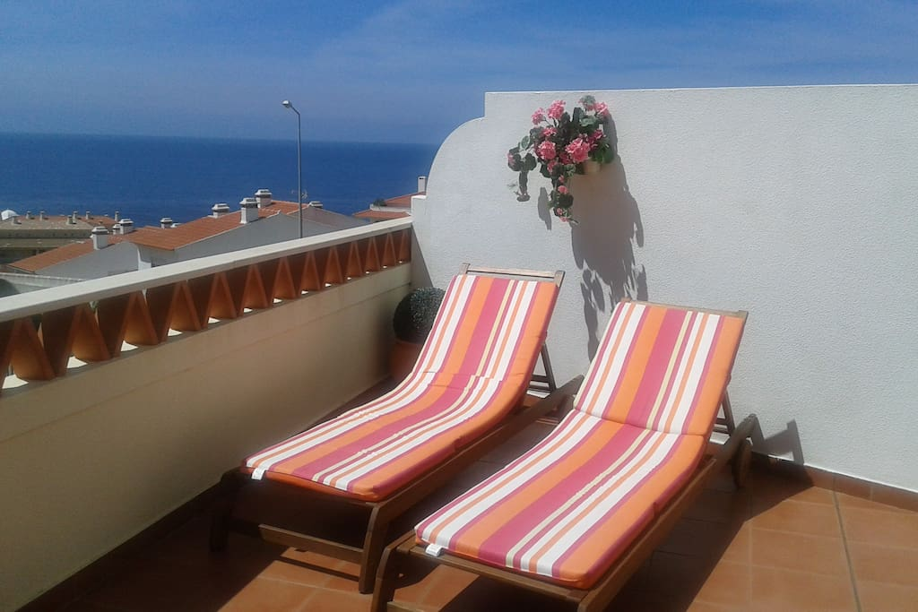 27 sqm terrace with oceanview