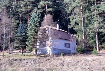 Cosy chalet in wooded valley on Ski/Hike Centre