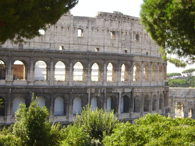 LARGE 3 BR PANORAMIC COLOSEUM APARTMENT - Roma - Apartment