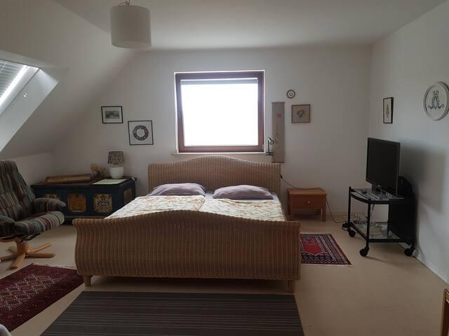 1 Zimmer Apartment für 1 Person mit Küche und Bad