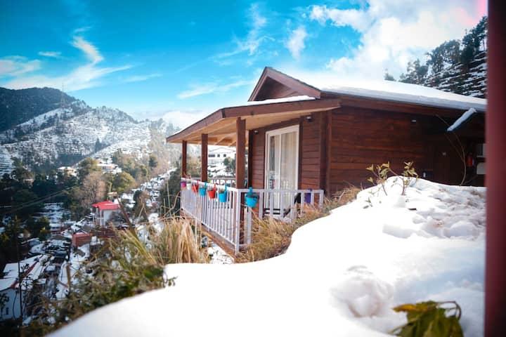 World Peace Gagar - Panchachuli view cottage