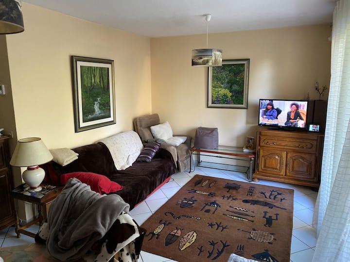 Grand appartement dans résidence calme
