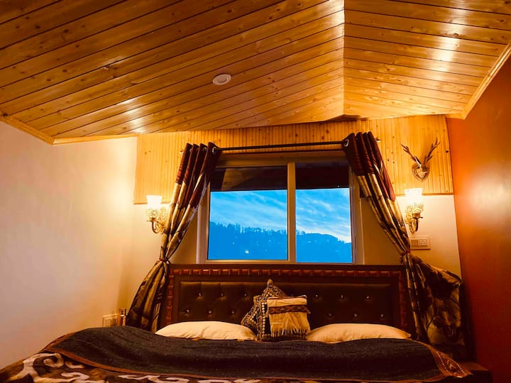 Cozy woods 2 Private rooms Shimla | Sunset View