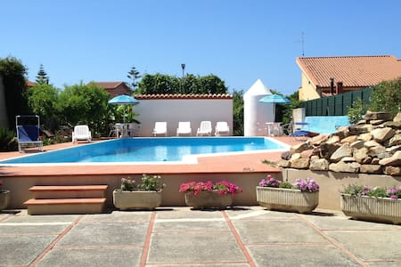 Apartment with pool near Cefalu' - Piane Vecchie - Flat