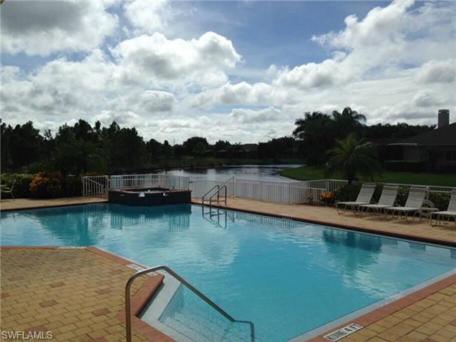 Main pool (5 min walk)