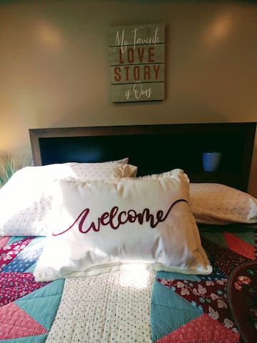 Welcome to a comfortable home away from home!