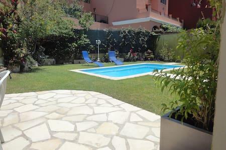 villa cerca del  mar y piscina privada - Rincón de la Victoria