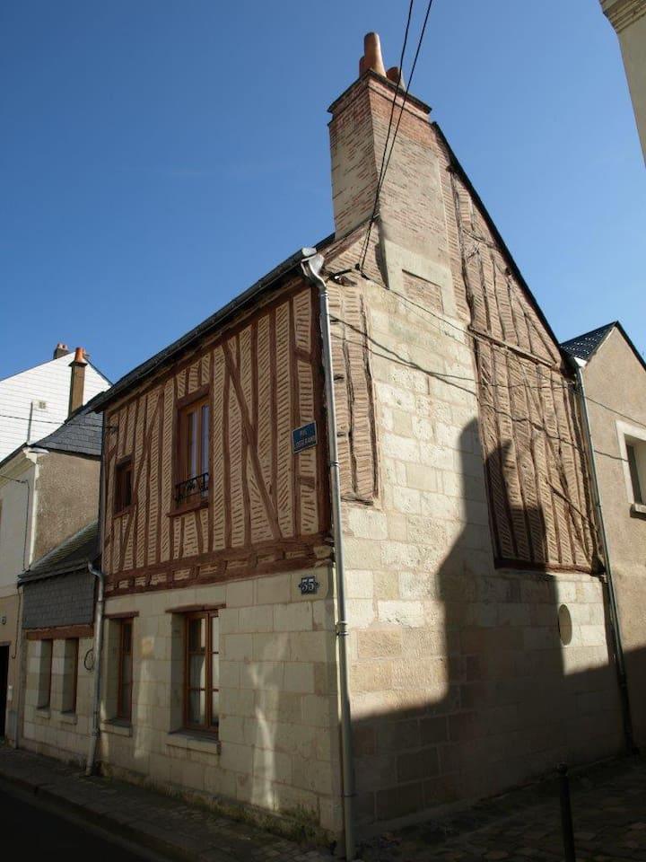 Façade de la maison / Front of the house