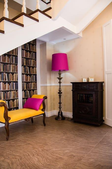 reading corner, room