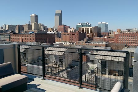 Modern PH Loft in heart of Old Mkt - Omaha - Loft