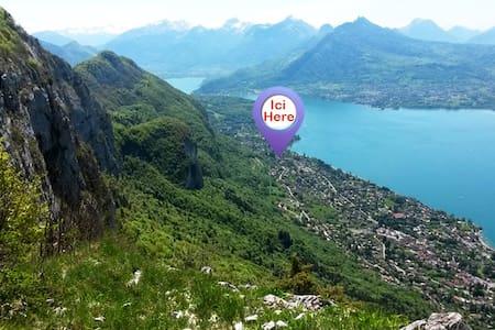 Appart. vue Lac/Montagne