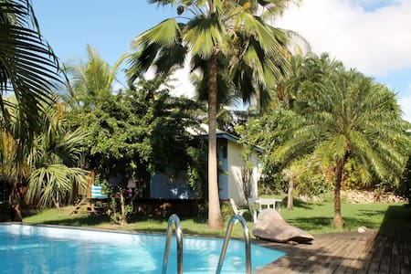 Charming bungalow with swiming pool - Sainte-Anne