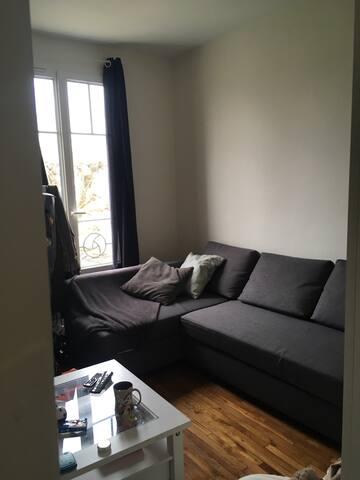 Studio confortable proche de Paris - Saint-Maur-des-Fossés - Apartamento