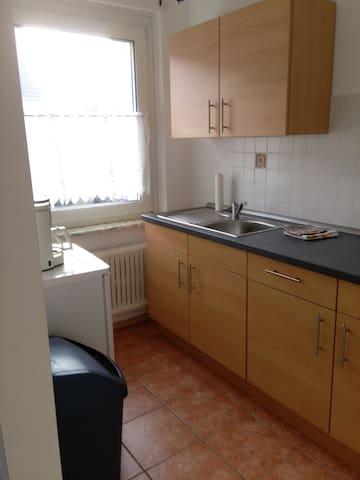 Wohnung zentral mit Blick ins Grüne - Witten - Apartamento