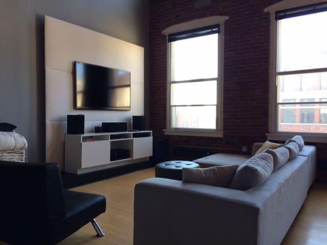 Luxury Condo Downtown Indianapolis - Indianapolis - Loft