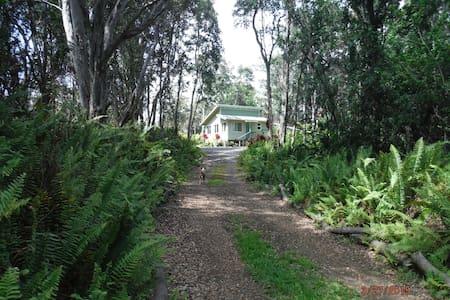 Peaceful Private Rainforest Getaway - Naalehu