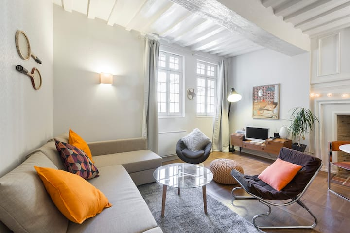 🌟VINTAGE - Charming apartment, heart of Rennes🌟