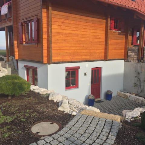 Ferienwohnung mit Terrasse in Südausrichtung