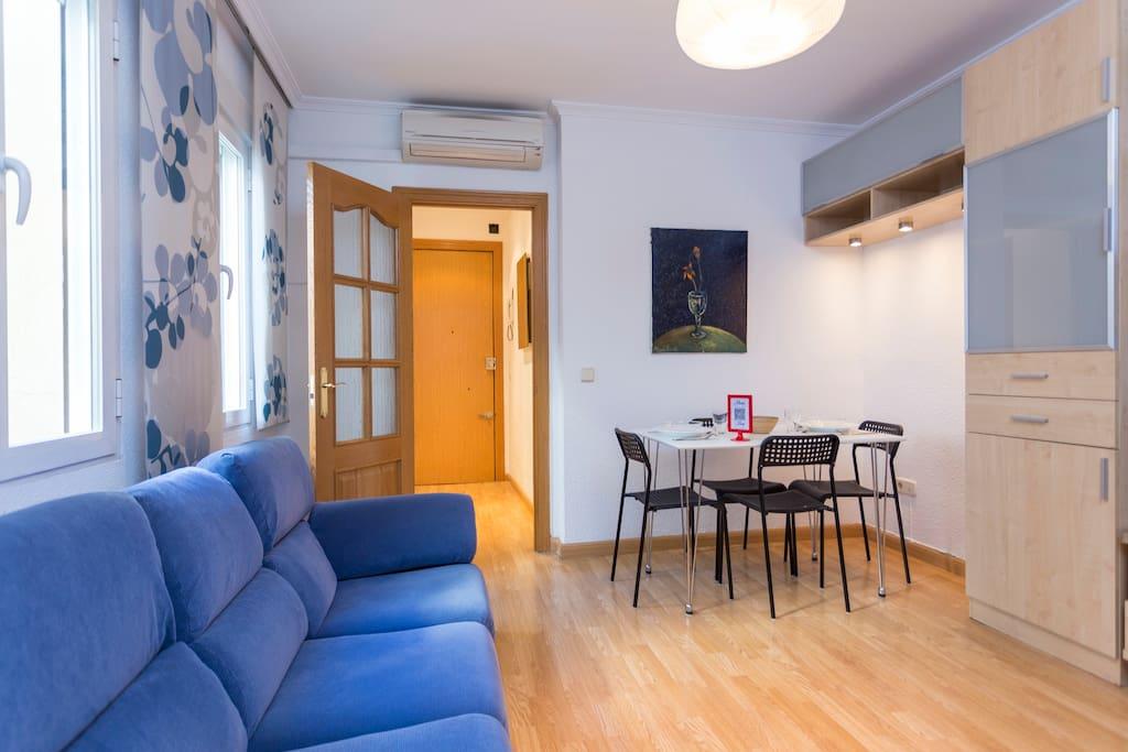 Piso acogedor atocha delicias apartamentos en alquiler for Alquiler piso delicias madrid