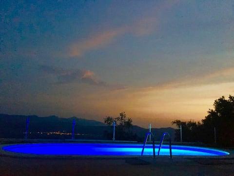 B&b Opuntia Villa in collina con vista panoramica
