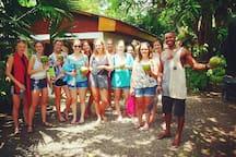 Sharin Fresh Coconut in Cabinas Tito
