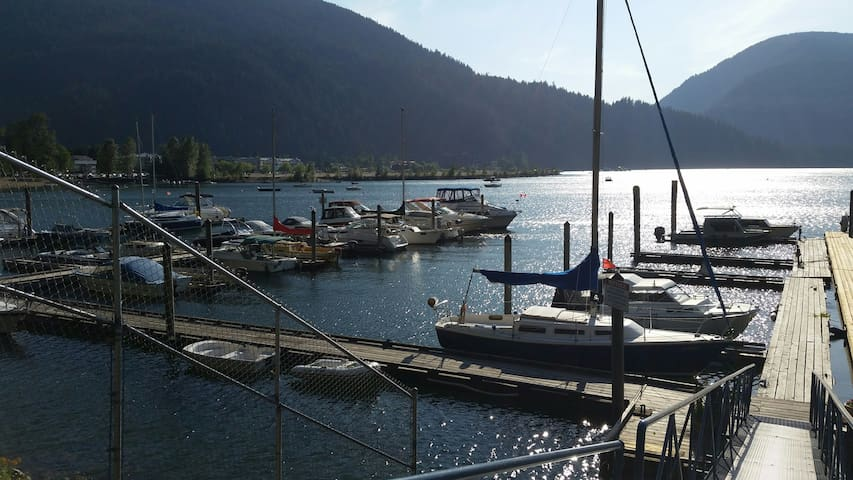 Harrison Lake beautiful place to walk, dine and water sports approx 30 minute drive