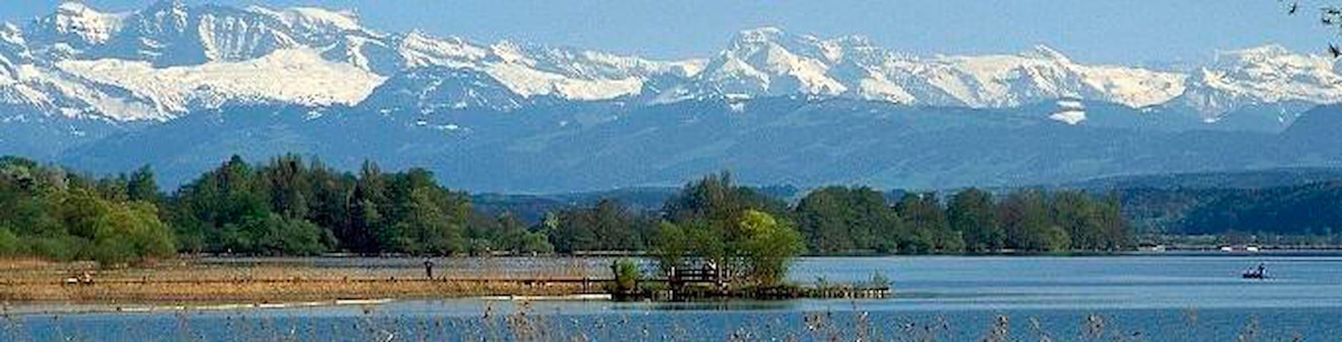 5 Min zum See, Gemütlichkeit & Ruhe, Stadtnah - Greifensee - Rumah