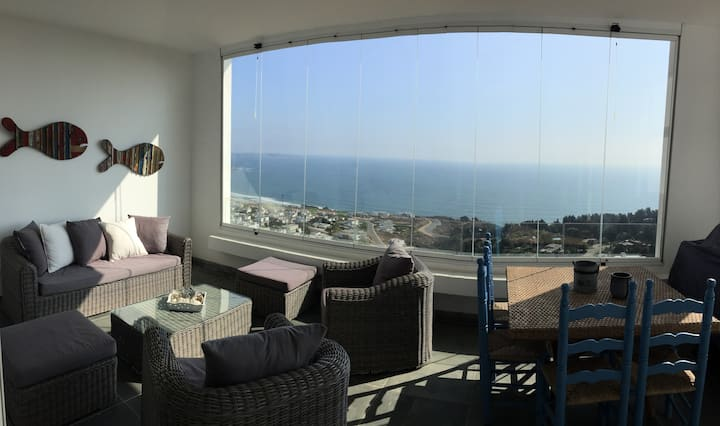 The best coastal  view from the heights