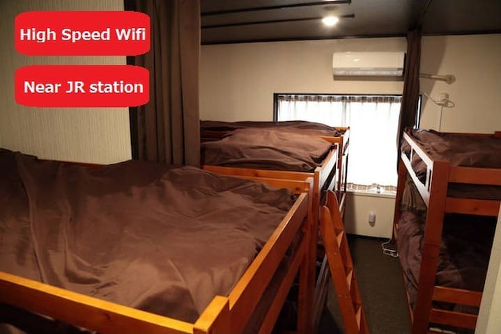 Chika's room near KIX 2(1pax)-222 - takaishishi - Bed & Breakfast