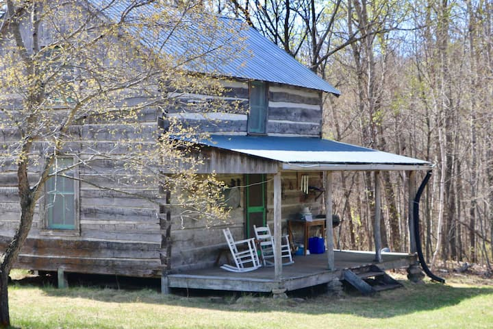 The Maynard Cabin, a Civil War era log cabin