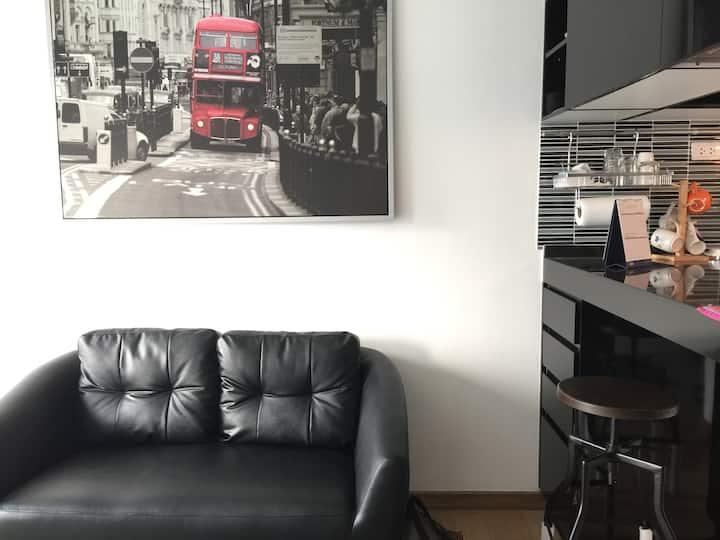 Bangkok Feliz: Cozy Loft 80m to BTS