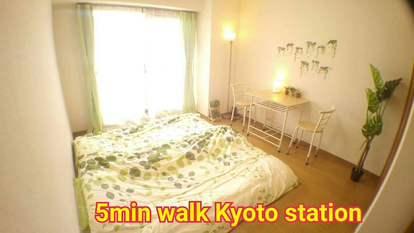 Kyoto station 5min walk. Privately reserved room - Minami Ward, Kyoto - อพาร์ทเมนท์