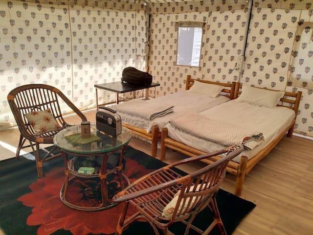 ARANYA ECO FARM Luxury Tent - 1